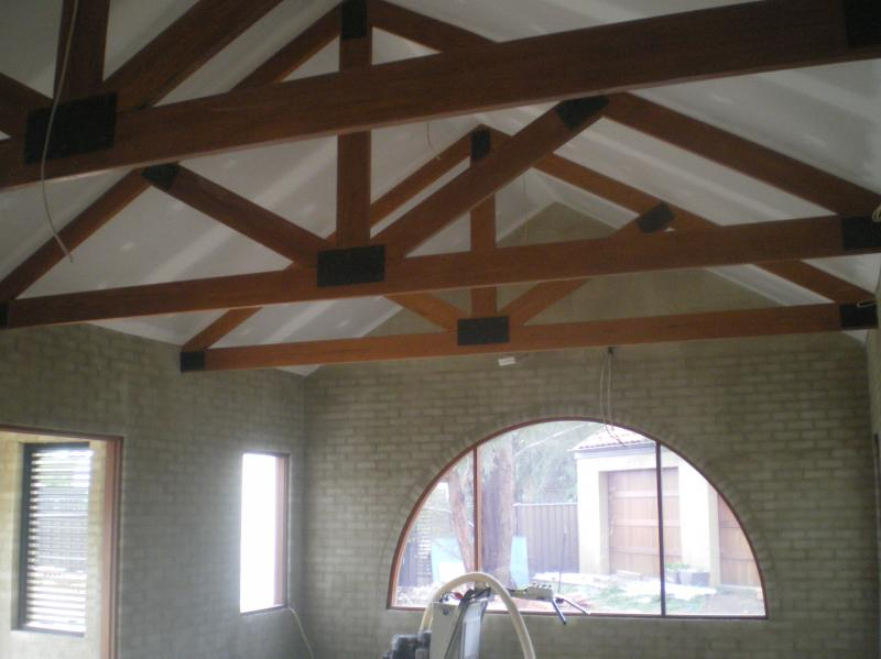 Truss applications for Exposed roof trusses images